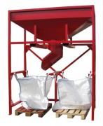 Tremie big bag sur-mesure - Stockage de multiples matériaux en vrac et de déchet