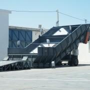 Trémie de chargement 600 T - Jusqu'à 600 tonnes par heure