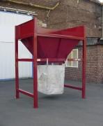 Trémie de remplissage big bag - Volume 800 litres ou sur-mesure