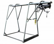 Tréteau chevalet complet - Modèle électrique - Puissance : 1.1 /1.5 kW - Capacité : 300 / 500 kg