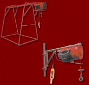 Treuil de chantier - Vitesse de levage : 13.3 à 45 m/mn