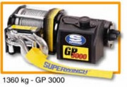 Treuil de halage électrique sur vehicule - GP 3000 - Force 1360 kg