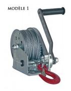 Treuil de halage manuel - Treuil à câble - 2 modèles disponibles
