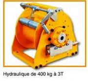 Treuil de levage hydraulique - Série TH de 400kg à 3T