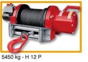 Treuil de levage sur véhicule H12P - Treuil hydraulique force 5450 kg