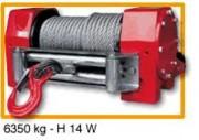 Treuil de levage sur véhicule H14W - Treuil hydraulique force 6350 kg