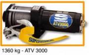 Treuil électrique de halage - ATV 3000 - Force 1360 kg