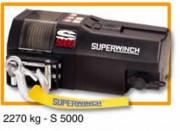 Treuil électrique halage sur véhicules force 2270 kg - S 5000 - Force 2270 kg