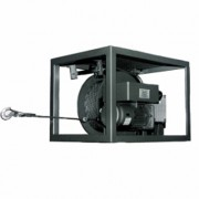 Treuil électrique universel - 2 poulies de traction - Vitesses de traction : De 4,5 à 18 m/min