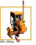 Treuil essence et diesel - Treuil à essence E25 : 250kg