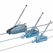 Treuil manuel grande longueur - Charge maximale utile (daN/kg) : 800 - Diamètre câble (mm) : 8.3