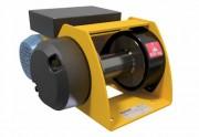 Treuil motorisé de levage et halage capacité 150/500 kilos - Tambour en acier mécanosoudé