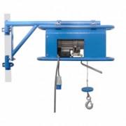 Treuil sur potence télescopique - Charge maximale utile (kg) : 200 - Longueur du câble acier (m) : 31