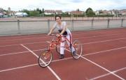 Tricycle à propulsion par les pieds - Nombreux accessoires  -   Selles et plastrons