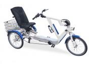 Tricycle confortable pour PMR - Très confortable   -  Freins hydrauliques