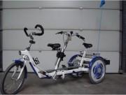 Tricycle duo - Avec 3 roues de 22 pouces