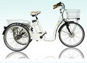 Tricycle électrique Aluminium - Autonomie : 25 à 45 km en mode intermédiaire