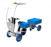 Tricycle électrique avec remorque  - Tricycle lectrique avec remorque à capacité 200Kg