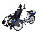 Tricycle pour personne lourdement handicapée - Solide et confortable   -   Ecologique