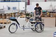 Tricycle professionnel - Charge utile jusqu'à 250 kg