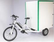 Tricycle triporteur électrique - Volume du coffre : jusqu'à 1300 litre