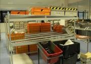 Trieuse de courrier postal - Dotée de fonctions de pesage et d'étiquetage.