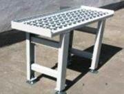 Triple guidage latéral - Tables avec plaques à billes