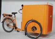 Triporteur crêpes - Réfrigérateur de 60 litres (gaz/ 12 V / 220 V)