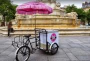 Triporteur frigo ambulant - Autonomie 1 journée environ - En vente et en location