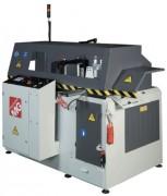 Tronçonneuse à avance automatique avec commande numérique - Machine de coupe à cycle automatique profilés alu/PVC