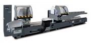 Tronçonneuse à double tête - Capacité de coupe entre les 2 têtes : 4000, 5000 ou 6600 mm