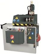 Tronçonneuse aluminium/PVC à avance automatique - Tronçonneuse fraise-scie ascendante à cycle automatique