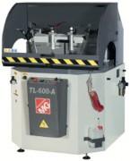 Tronçonneuse automatique à table rotative - Tronçonneuse à fraise montante pour profilés aluminium