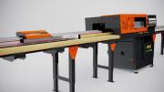 Tronçonneuse automatique bois - Capacité : 150 x 150 mm
