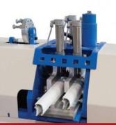 Tronçonneuse semi-automatique pour parcloses - 2 lames doubles 45° - Parcloses PVC et Aluminium