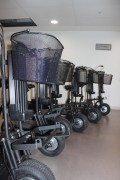 Trottinette électrique pour hôpitaux - Rapide et efficace
