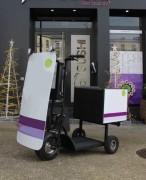 Trottinette électrique pour livraison - 3 roues