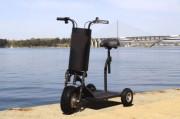 Trottinette électrique pour PMR - À 3 roues