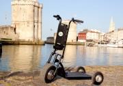 Trottinette électrique professionnelle - Autonomie : jusqu'à 30 km