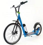 Trottinette électrique hybride à grandes roues - Autonomie : 4h