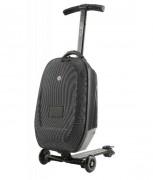 Trottinette pour adulte pliable - Frein arrière : pression sur garde-boue  -  Taille roues : 4,7 pouces (12 cm)