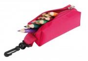 Trousse à crayon pour enfants - Jusqu'à 12  crayons - A mousqueton