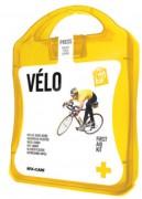 Trousse de premiers secours pour les cyclistes - Équipement de base pour soigner les petites blessures du cycliste