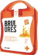 Trousse de secours anti-brûlures - Permet de refroidir les brûlures