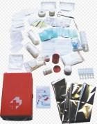 Trousse de secours en plastique - Composée de 73 éléments