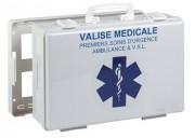 Trousse de secours pour ambulances - Dimensions (L x l x H) cm : 39,5 x 27 x 13,5
