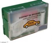Trousse de secours taxi - Dimensions (L x l x H) cm: 26.3 x 17 x 8.3