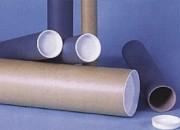 Tube d'expédition carton - Fermeture par 2 embouts plastiques