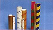 Tube de couleurs et imprimés - Tube en carton de couleurs et imprimés personalisés