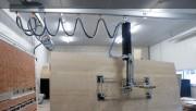 Tube de levage ergonomique charge 20 à 300 kg - Poignée de commande rotative pour montée/descente charge